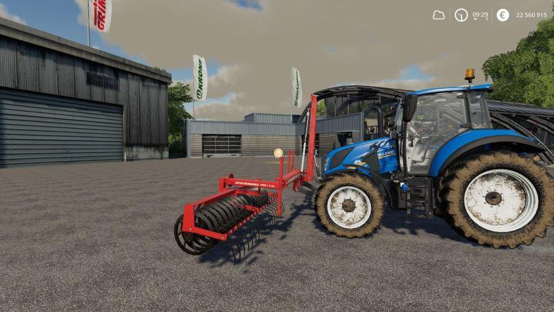 Мод Expom terra I Front Cultivator v 1.0 для Farming Simulator 2019
