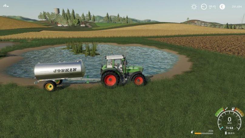 Мод Pond Water Store v 1.0 для Farming Simulator 2019