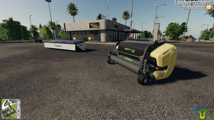 Мод Krone Ernter Pack by Bonecrusher6 v 2.5 для Farming Simulator 2019