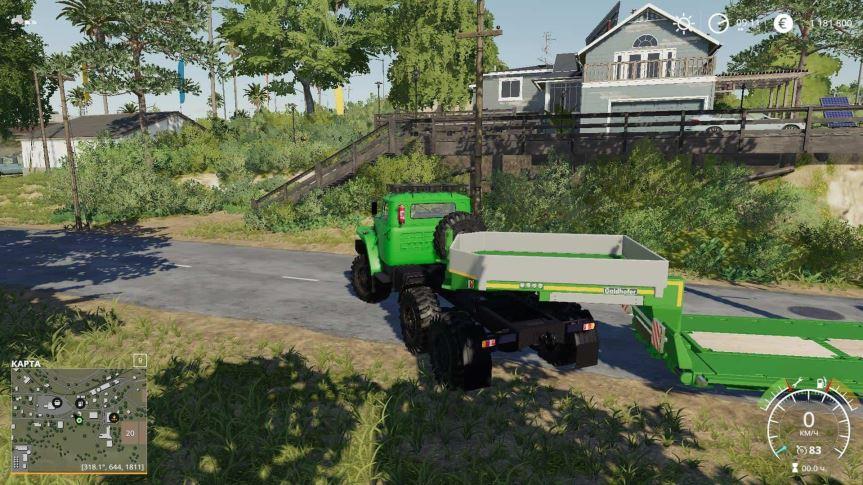 Мод Урал-4320 v 1.1 для Farming Simulator 2019