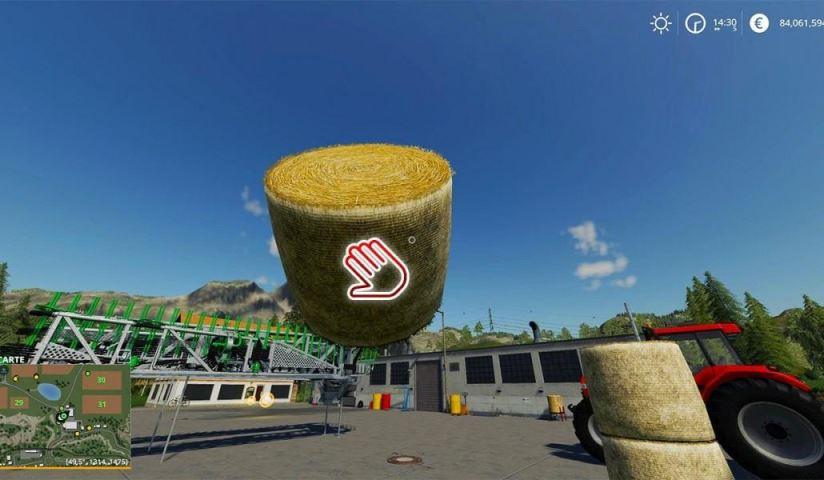 Мод Скрипт Lift Heavy Loads v 1.0 для Farming Simulator 2019