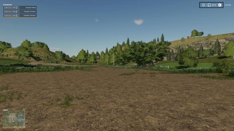 Мод Скрипт FastNight v 1.0 для Farming Simulator 2019