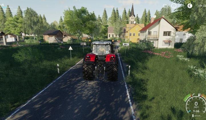 Мод Карта ZD Bela v 1.1 для Farming Simulator 2019