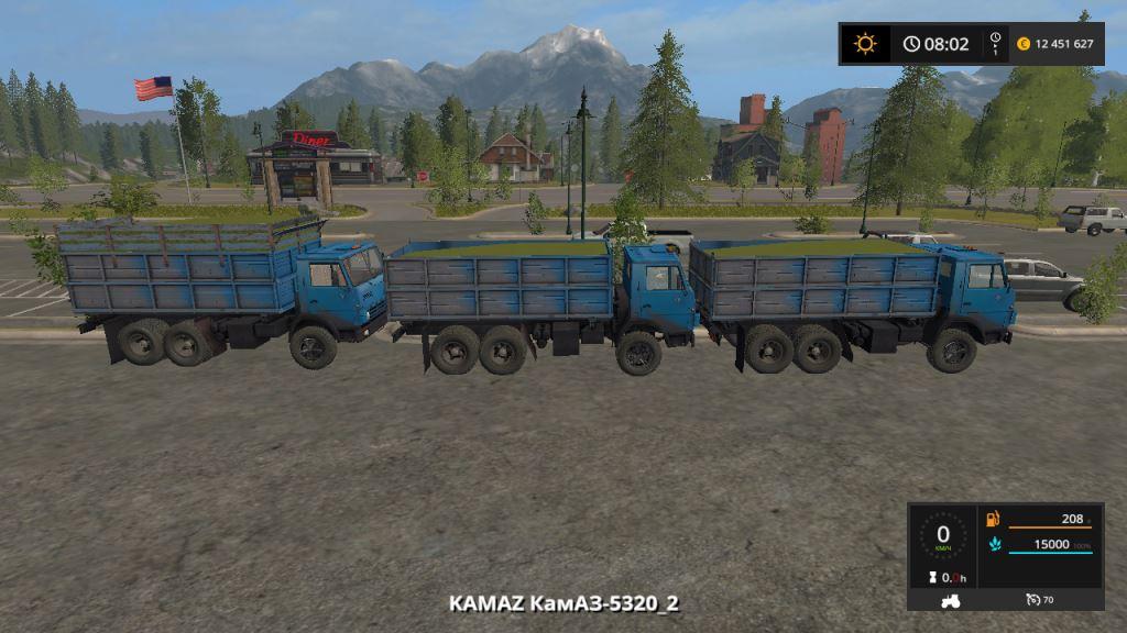 Мод КамАЗ-5320 Edit W_R v 1.0 для Farming Simulator 2017