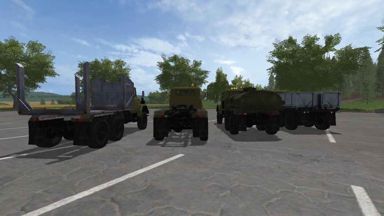 Мод Пак ЗИЛ-131 v 1.0 для Farming Simulator 2017