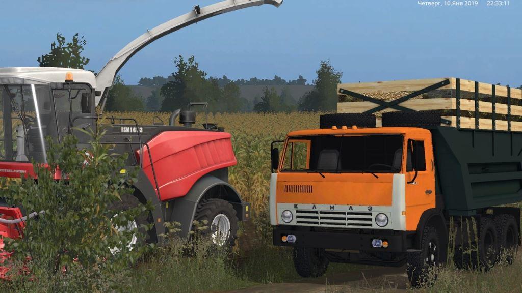 Мод Камаз-55111 v 1.3 для Farming Simulator 2017