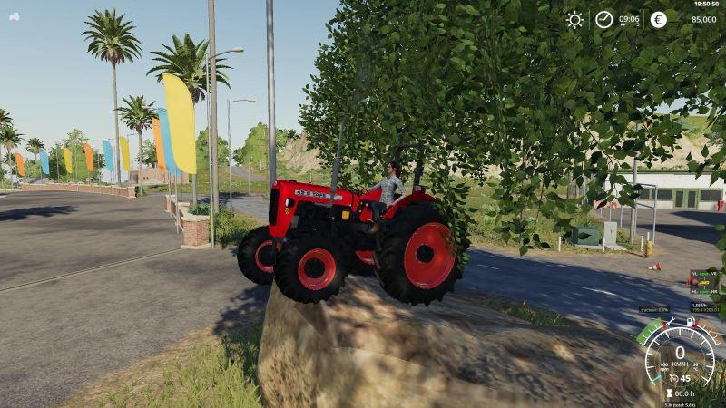 Мод Tafe 42 v 1.3 для Farming Simulator 2019