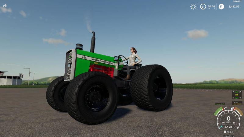 Мод Massey Fergusson 265 v 1.4 для Farming Simulator 2019