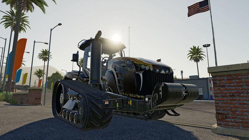 Мод Challenger MT800E Field Python v 1.0 для Farming Simulator 2019