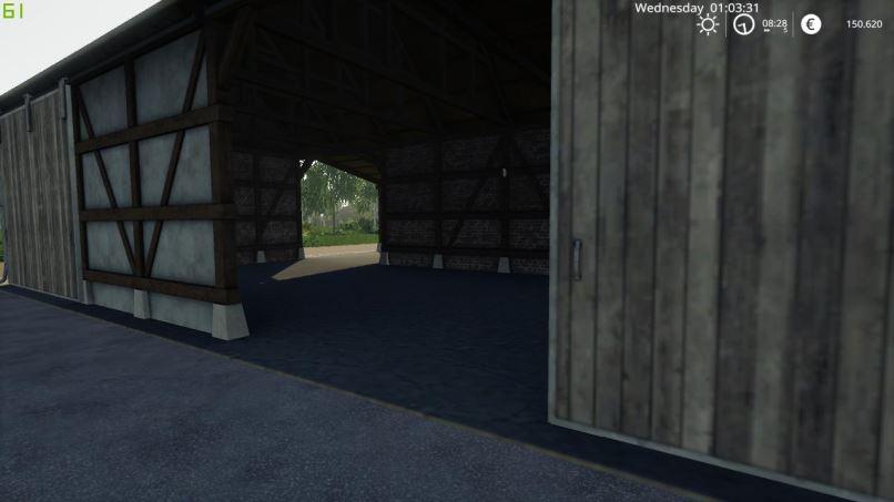Мод Beautiful Shed v 1.0 для Farming Simulator 2019