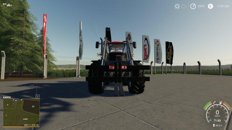 Мод Palettengabel Stoll v 1.0 для Farming Simulator 2019