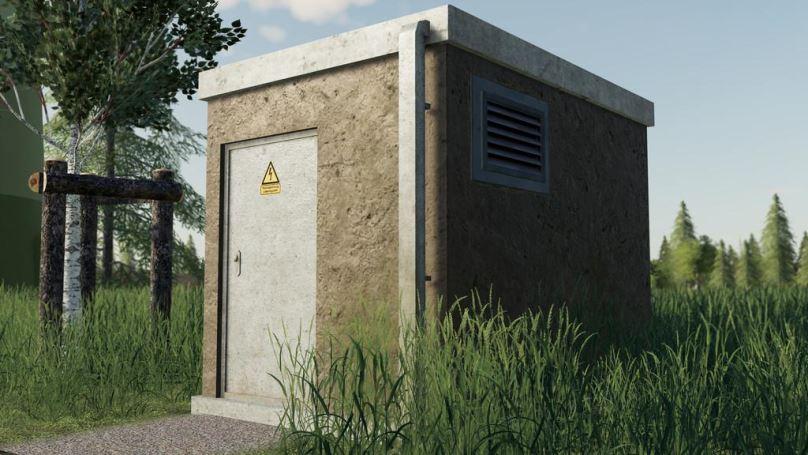 Мод Electricity Houses (Prefab) v 1.0 для Farming Simulator 2019