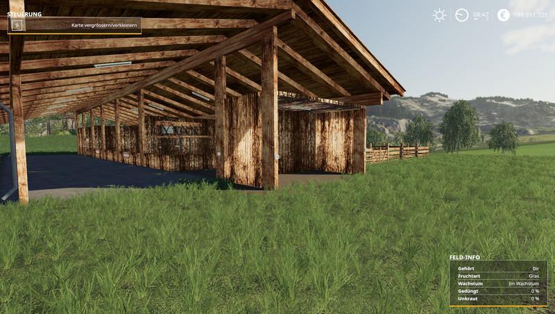 Мод Schafstall v 1.0 для Farming Simulator 2019