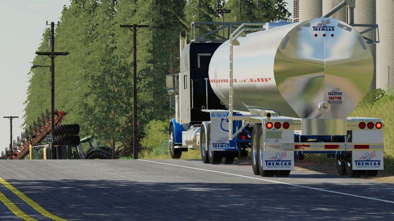 Мод Tremcar 6500 Gallon Food Grade Tanker v 1.0 для Farming Simulator 2019