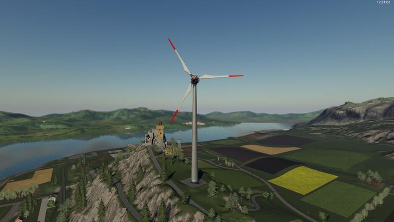 Мод Vestas Windkraftanlage v 2.0 для Farming Simulator 2019