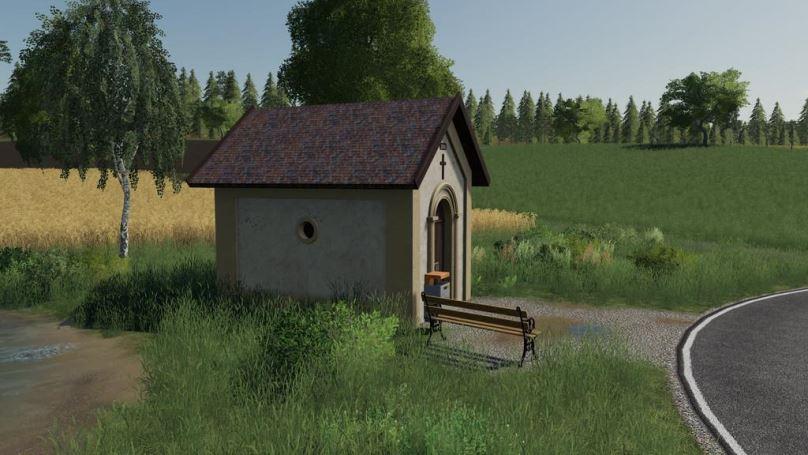 Мод Chapel (Prefab) v 1.0 для Farming Simulator 2019