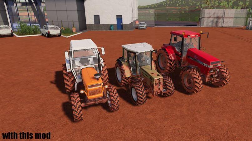 Мод Скрипт Vehicle Dirt Extension v 1.0 для Farming Simulator 2019