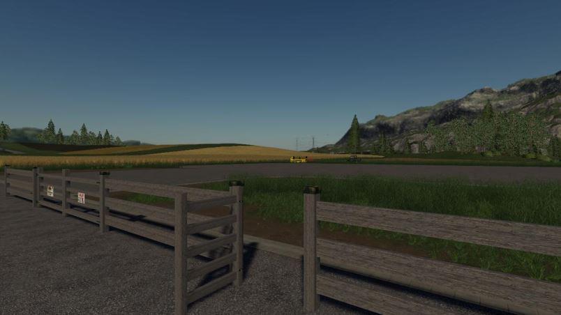 Мод Holz Zaun Elemente v 1.0 для Farming Simulator 2019