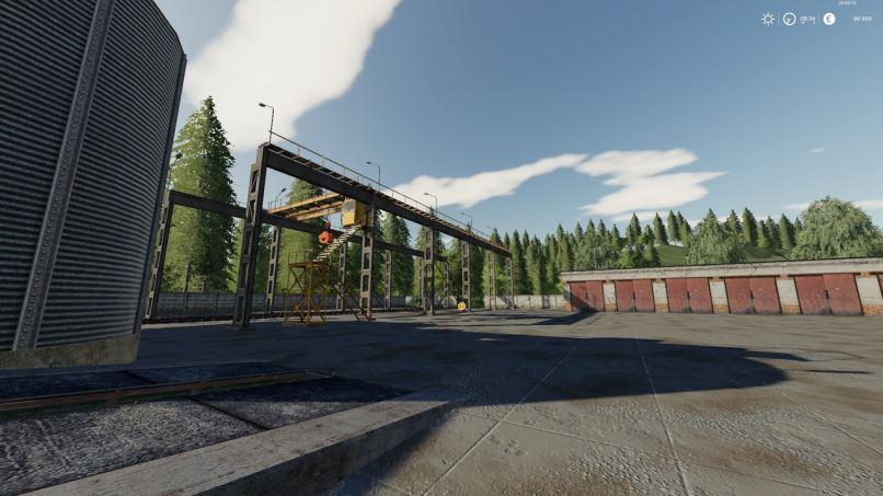 Мод Карта Село Ягодное v 2.2.1 для Farming Simulator 2019