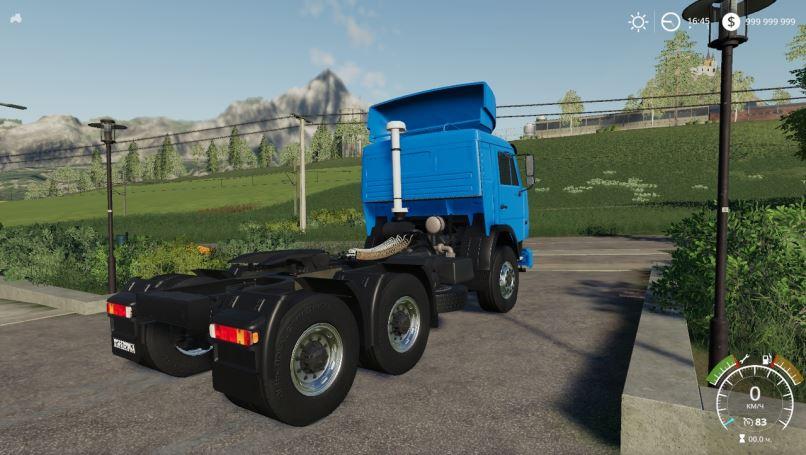 Мод КамАЗ-54115 v 3.0.0.1 для Farming Simulator 2019
