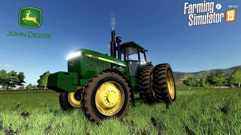 Мод John Deere Fwa series v 1.0 для Farming Simulator 2019