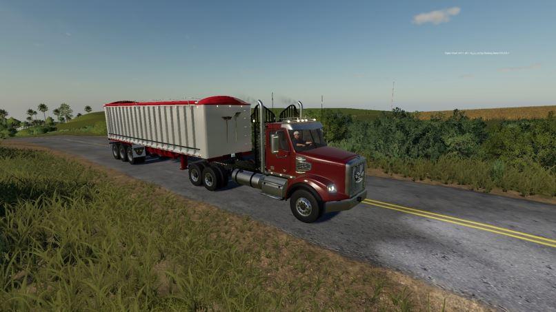 Мод Freightliner Coronado SD v 1.0 для Farming Simulator 2019