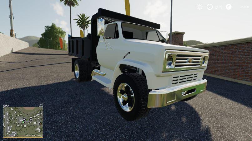 Мод Chevy C70 Dump v 1.0 для Farming Simulator 2019