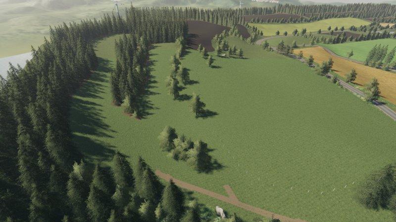 Мод Карта Rehweiler Map v 1.0 для Farming Simulator 2019