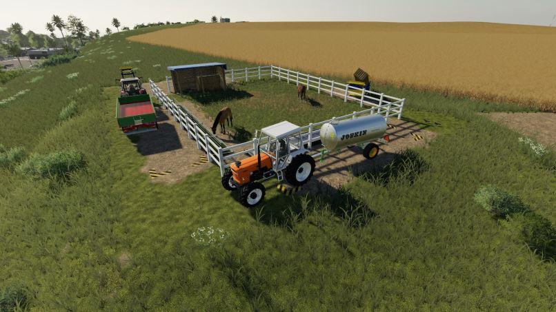 Мод Small horse paddock v 1.0.1.0 для Farming Simulator 2019