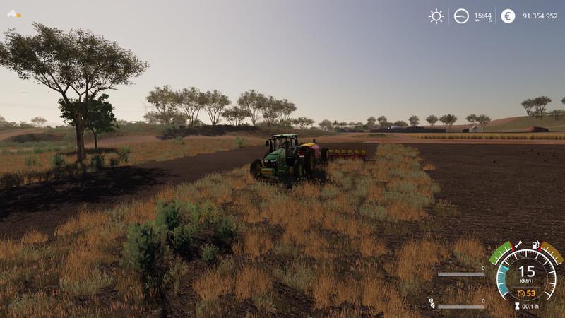 Мод Big Aussie Outback v 1.0 для Farming Simulator 2019