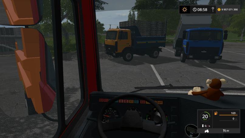 Мод Маз-5551 v 1.0 Gear Box  для Farming Simulator 2017