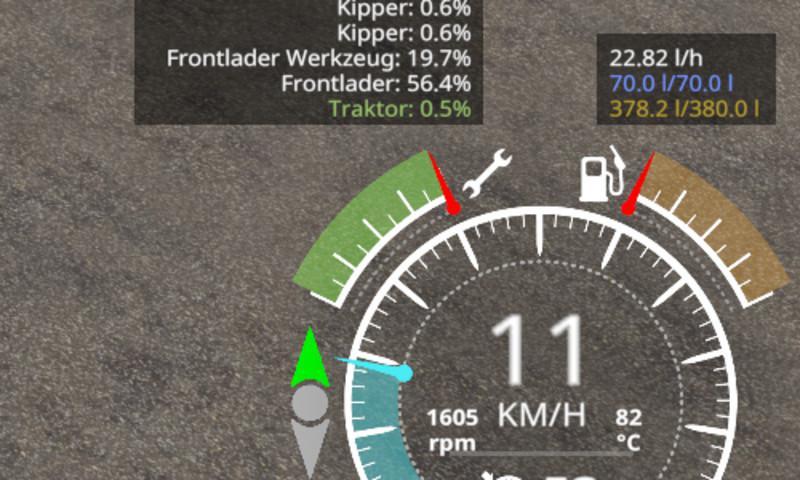 Мод Скрипт Enhanced Vehicle v 1.6.1.0 для Farming Simulator 2019