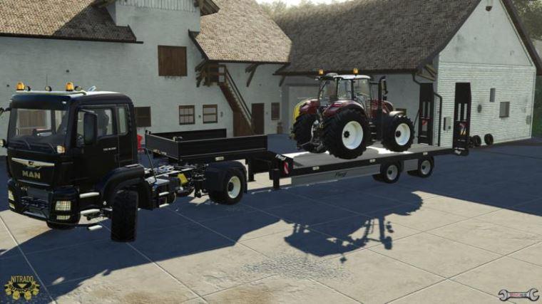 Мод New Holland T5.120 Centenario edition v 1.0 для Farming Simulator 2019