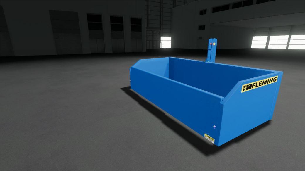 Мод TB4 Transport Box (Fleming) v 2.0 для Farming Simulator 2019