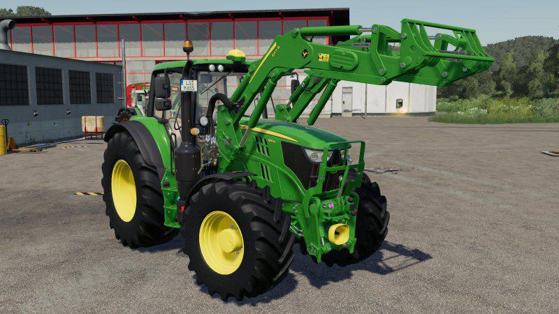 Мод John Deere 643R v 1.0 для Farming Simulator 2019