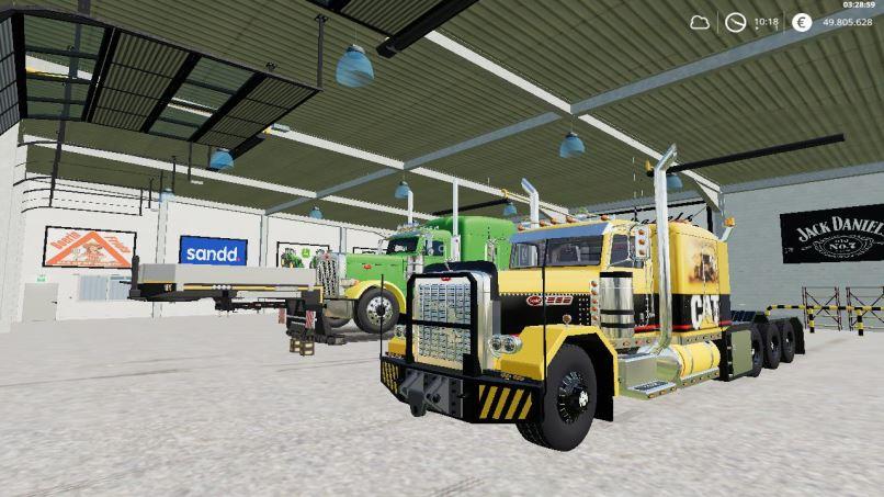 Мод Caterpillar Heavy Haul v 0.9 для Farming Simulator 2019