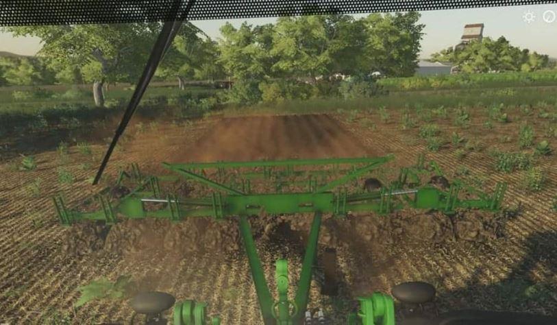 Мод John Deere 1600 chisel plow v 1.0 для Farming Simulator 2019