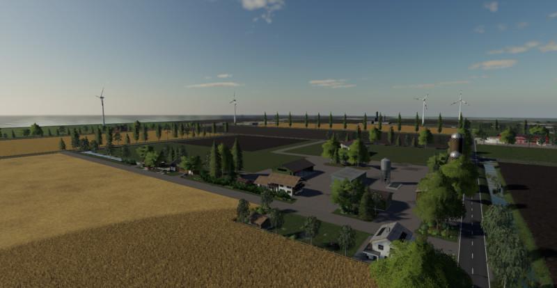 Мод Nordfriesische Marsch Map v 1.1 Beta для Farming Simulator 2019