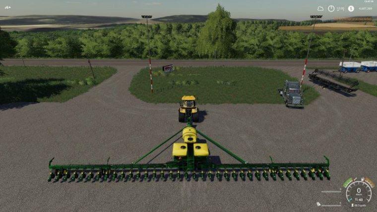 Мод DB90 27m v 1.0 для Farming Simulator 2019