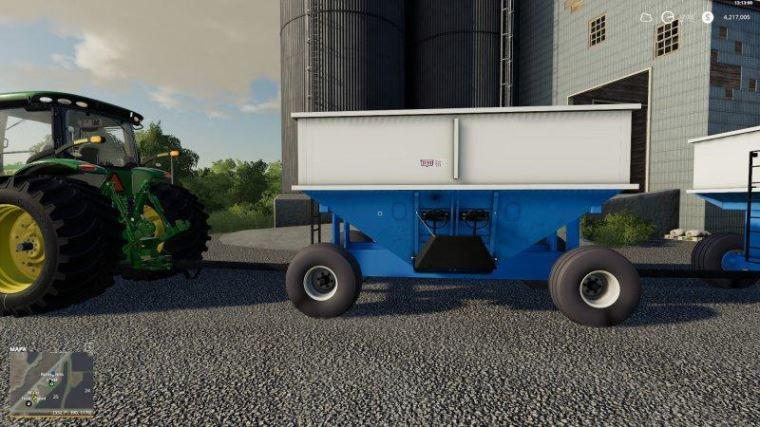 Мод Gravity Wagon DMI400 v 1.0 для Farming Simulator 2019