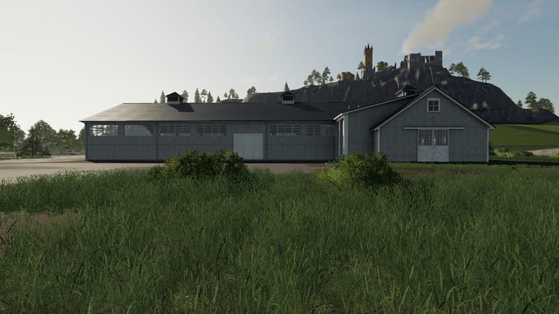 Мод Ridinghall v 1.2 для Farming Simulator 2019