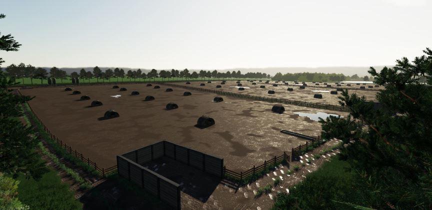 Мод Карта Sutton Farm v 1.0 для Farming Simulator 2019