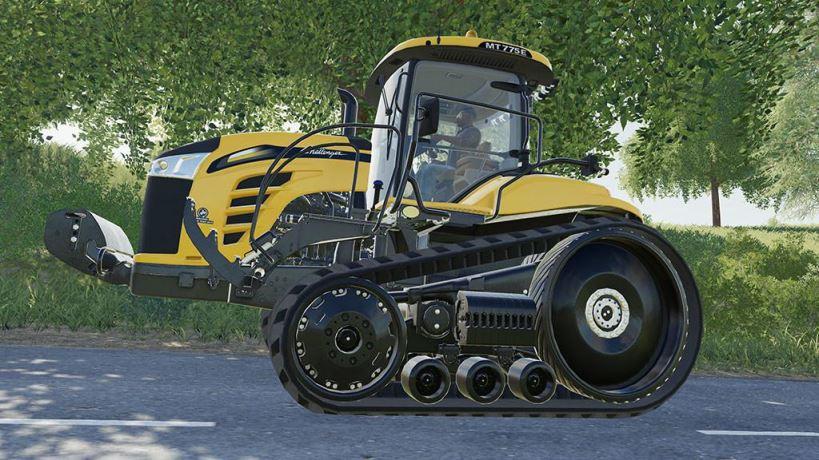 Мод Challenger MT700E v 1.0 для Farming Simulator 2019