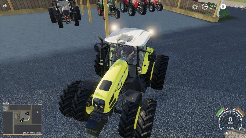 Мод Stara Tractor Pack v 1.0 для Farming Simulator 2019