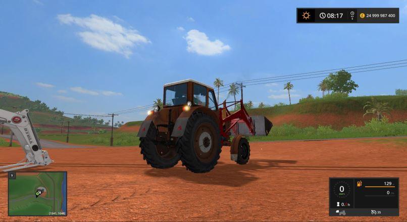 Мод МТЗ-52 v 1.0.0.0 для Farming Simulator 2017