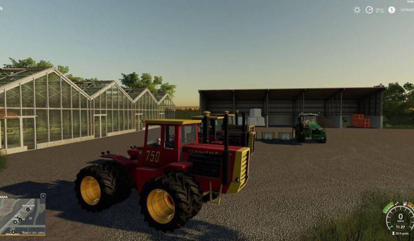 Мод Versatile 6 cylinder series v 1.0 для Farming Simulator 2019