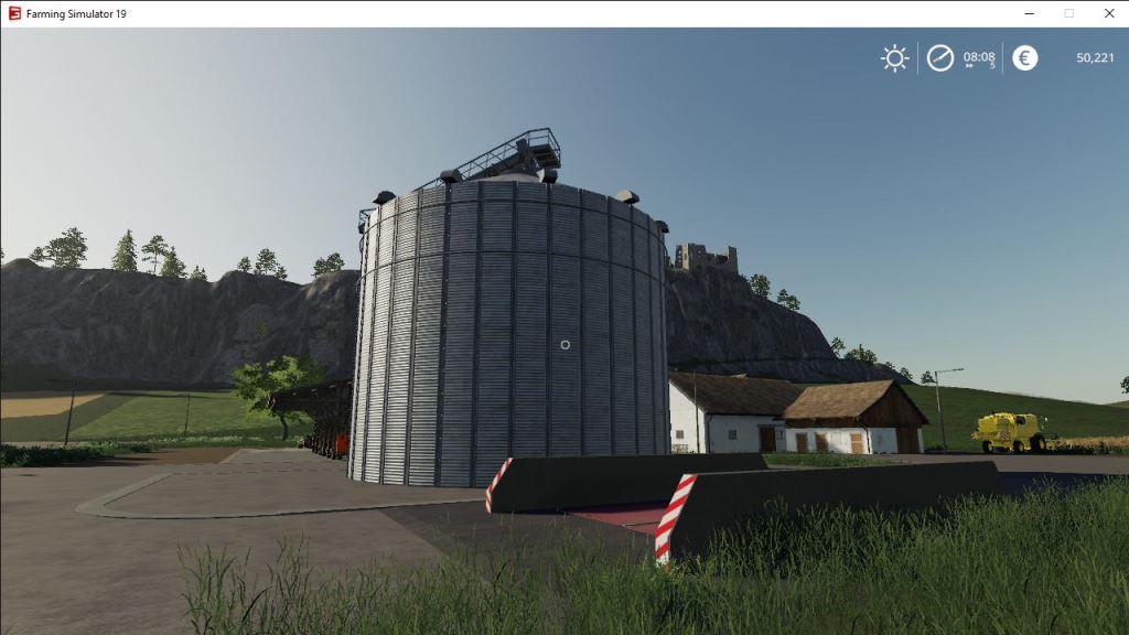 Мод Silo placeable v 1.0 для Farming Simulator 2019