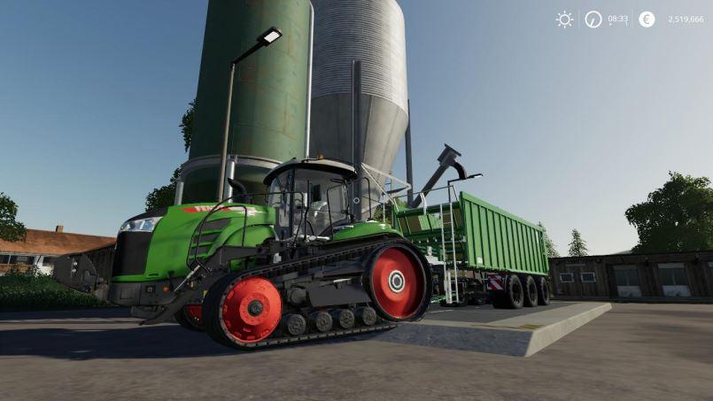 Мод Unlimited capacity Kroeger TAW v 1.2.0 для Farming Simulator 2019