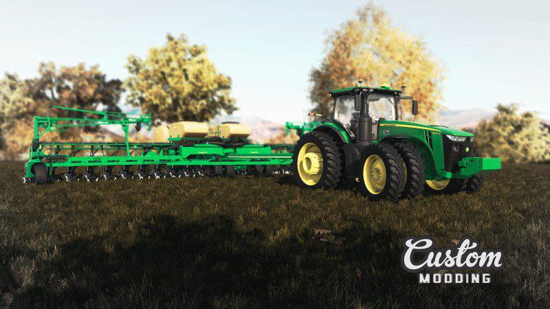 Мод Great Plains YP2425A with fertilizer tank SML1000 v 1.0 для Farming Simulator 2019