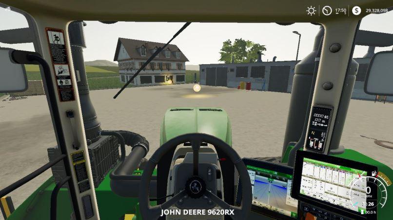 Мод John Deere 9RX beta v 0.1 для Farming Simulator 2019